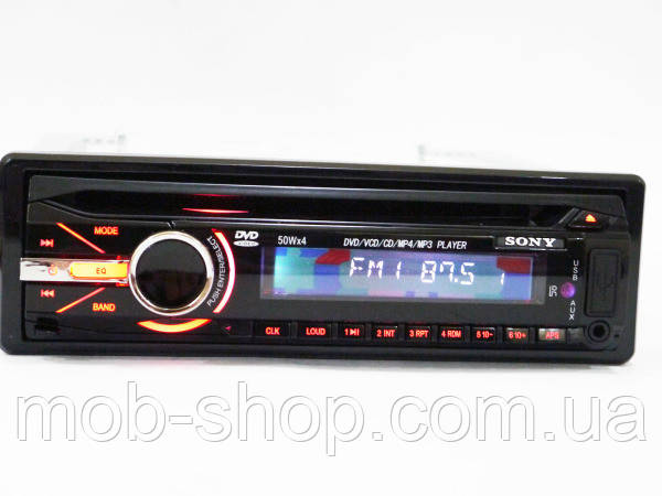 Автомагнитола сони Sony 490 DVD USB+SD съемная панель