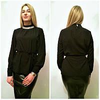 Яркая женская шифоновая блузка у-2132