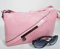 Стильная практичная сумка-клатч на длинном ремешке