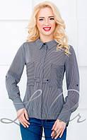 Женская блуза из креп шифона 2069