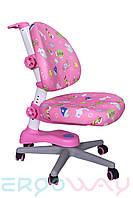 Детское компьютерное ортопедическое кресло растишка Ergoway M300 Pink