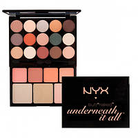 Набор косметики - NYX Butt Naked - Underneath It All Palette