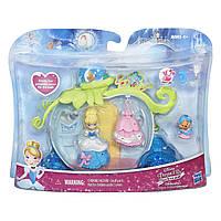 """Игровой набор Disney Princess Little Kingdom Cinderella's """"Принцессы Диснея"""" - Карета с мини-куклой Золушкой, фото 1"""