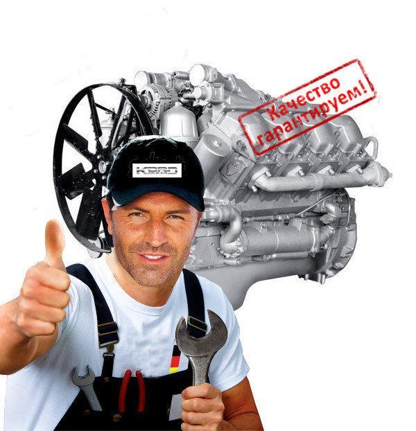 Ремонт двигателя МАЗ