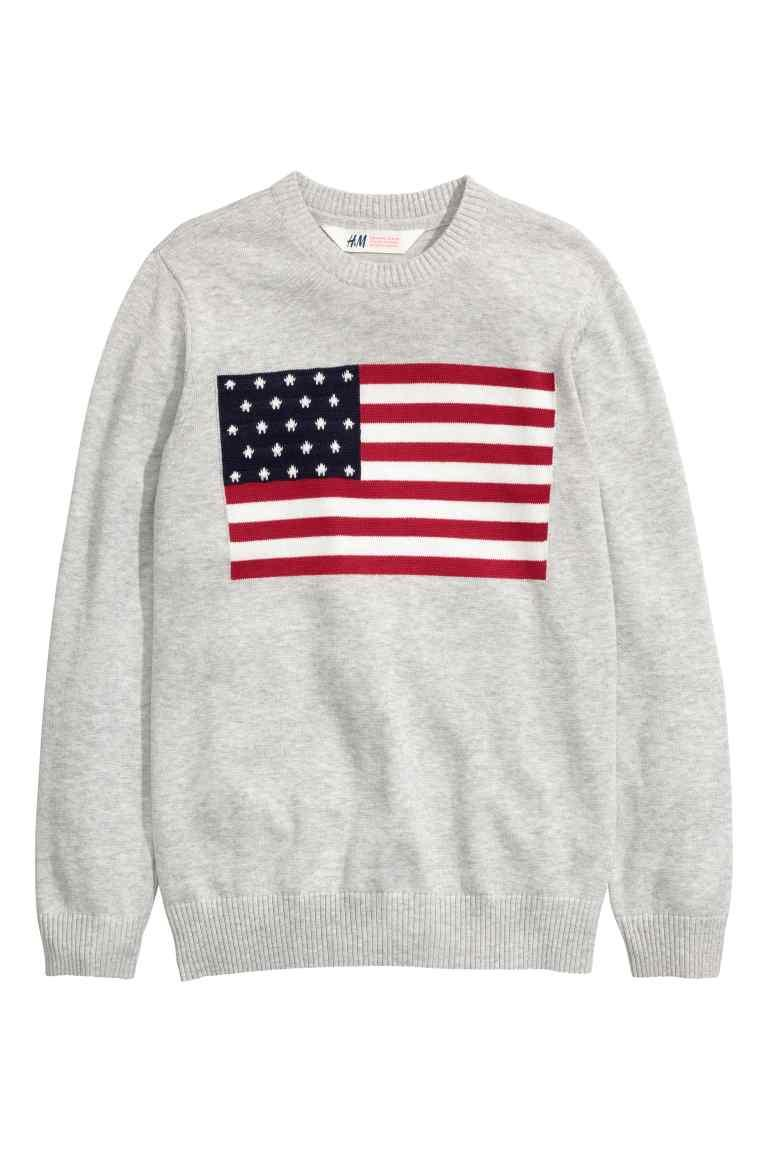 Стильный свитер на мальчика 8-10 лет H&M Швеция Размер 134-140