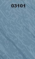 Жалюзи вертикальные 89 мм волна03101 — тканевые, голубые