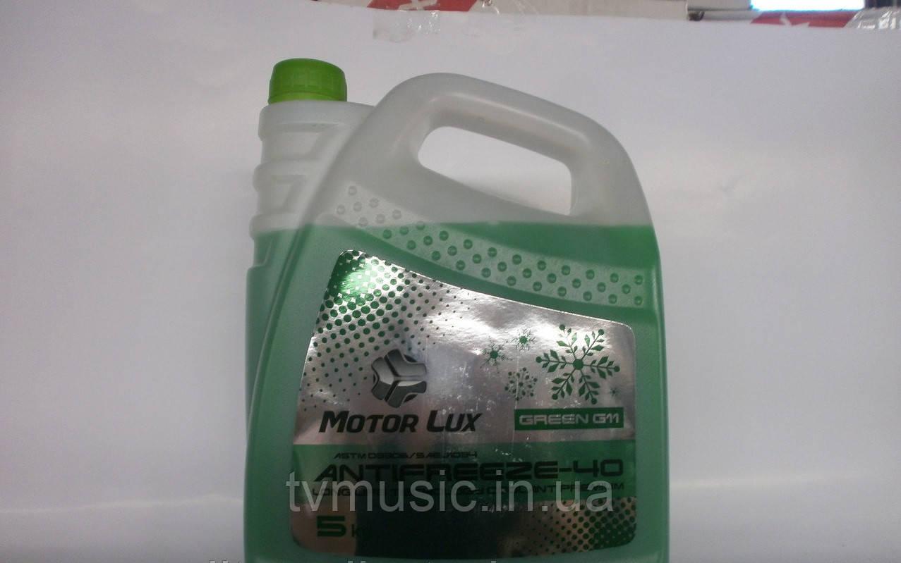 Антифриз Motor Lux -32 С зеленый 5 кг