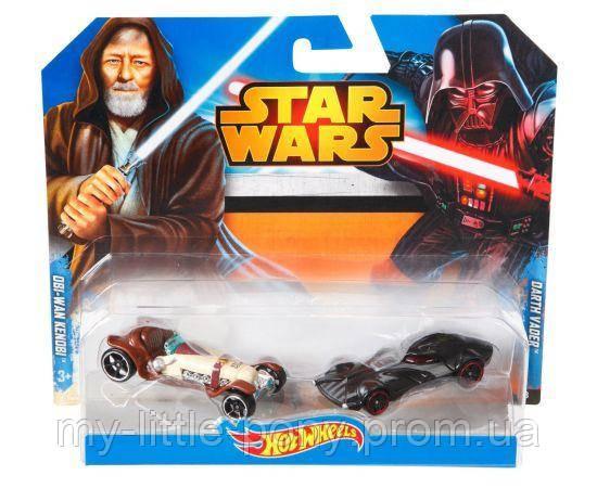 Набор из 2-х машинок-героев серии Star Wars Hot Wheels