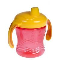 Поильник непроливайка с силиконовым клапаном  Canpol Babies 56/508 (Розовый)