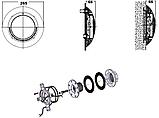 Прожектор галогенный Kripsol РEL100.С (100 Вт) под лайнер, фото 4