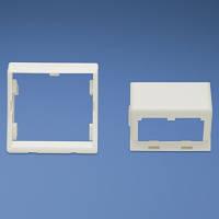 CFPFS2AW  Вставка 45*45 для двух модулей наклонная Panduit