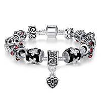 Браслет женский 634 Пандора (все размеры) Pandora с шармами