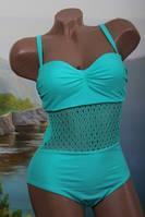 Яркий женский купальник в расцветке, фото 1