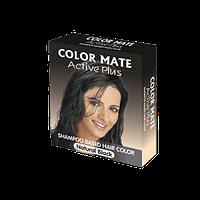 """Тонируюшее средство COLOR MATE """"ACTIVE PLUS-NATURAL BLACK """" Натурально чёрный."""