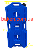 Канистра экспедиционная 20л синяя (экстремальная)
