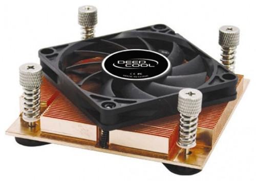 S71UA330 Вентилятор Deepcool для процессоров Intel Socket 775/1U Server 99x99x24.8мм 4700 об/мин 35дБ 2BB медн