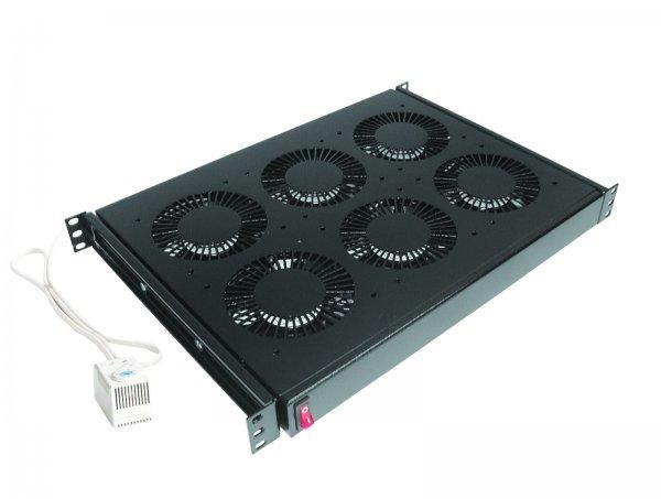 """DP-VEN-04 19 """"блок из 4 вентиляторов с термостатом (420 куб.м / ч), Conteg."""