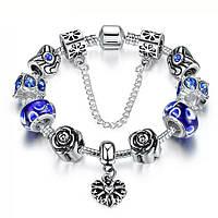 Браслет женский 633 Пандора (все размеры) Pandora с шармами