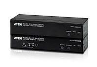CE-774 USB Dual View KVM-удлинитель до 150 метров + Звук + RS-232 через кабель CAT5е/6, ATEN.