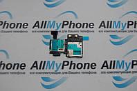 Держатель sim-карты для мобильного телефона Samsung I9500 / I9505 Galaxy S4 c коннектором карты памяти
