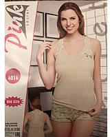 Пижама женская летняя с шортами и майкой