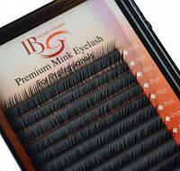 Ресницы I-Beauty на ленте Mink Eyelashes (20 линий) форма С длинна 13 мм,толщина 0,10 мм