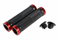 Велосипедные грипсы ROCKBROS с замками, ручки вело Red