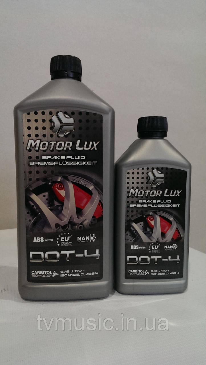 Тормозная жидкость Motor Lux ДОТ-4 1 л