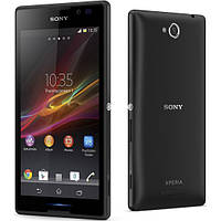 Задняя крышка Sony Xperia C C2304 C2305 S39 S39h черная