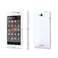 Задняя крышка Sony Xperia C C2304 C2305 S39 S39h белая, фото 1