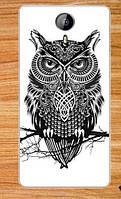 Чехол для Homtom HT3 Бампер силиконовый owl