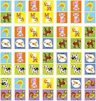 Игра настольная Viga Toys Домино Ферма (51306)