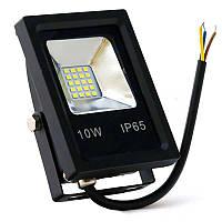 Светодиодный прожектор Biom 10Вт Slim холодный белый 220В IP65