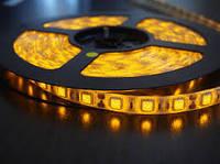 Лента желтая светодиодная 300 SMD5050 Yellow 5 метров в Силиконе!Акция
