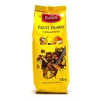 Чай фруктовий Bastek Black Island із квітами, 100 г