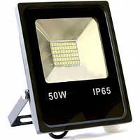 Светодиодный прожектор Biom 50Вт Slim холодный белый 220В IP65