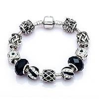 Браслет женский 6324 Пандора (все размеры) Pandora с шармами