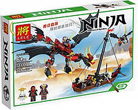 Конструктор Ninja Атака злого Дракона 31014
