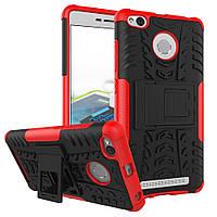 Чехол Xiaomi Redmi 3s / 3 pro Противоударный Бампер красный