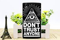 Чехол Бампер Doogee x5 max / х5 макс pro Don't trust