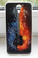 Чехол для Homtom HT3 Бампер guitar, фото 1