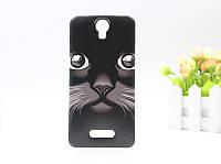 Чехол для Doogee X6 / X6 pro Бампер  black cat