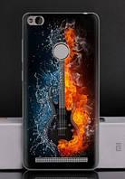 Чехол Xiaomi Redmi 3s / 3 pro Бампер силикон guitar
