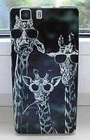 Чехол для Doogee X5 / X5 pro / X5s Бампер giraffes, фото 1