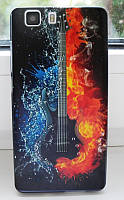 Чехол для Doogee X5 / X5 pro / X5s Бампер guitar, фото 1