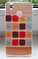 Чехол Бампер Doogee x5 max / х5 макс pro Buttons, фото 1