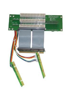 RC2-011E 2U Райзер карта 3хPCI-32 слота на гибком кабеле (используются 3х PCI-32)