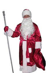 Прокат костюма Діда Мороза великі розміри