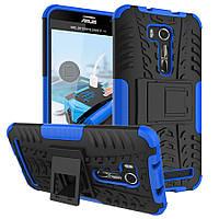 Чехол противоударный Asus ZenFone Go ZB551KL / Go TV G550KL бампер синий