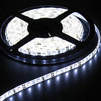 Лента светодиодная LED 5630 W белый цвет, гибкая лед лента, лента светодиодная smd 5630